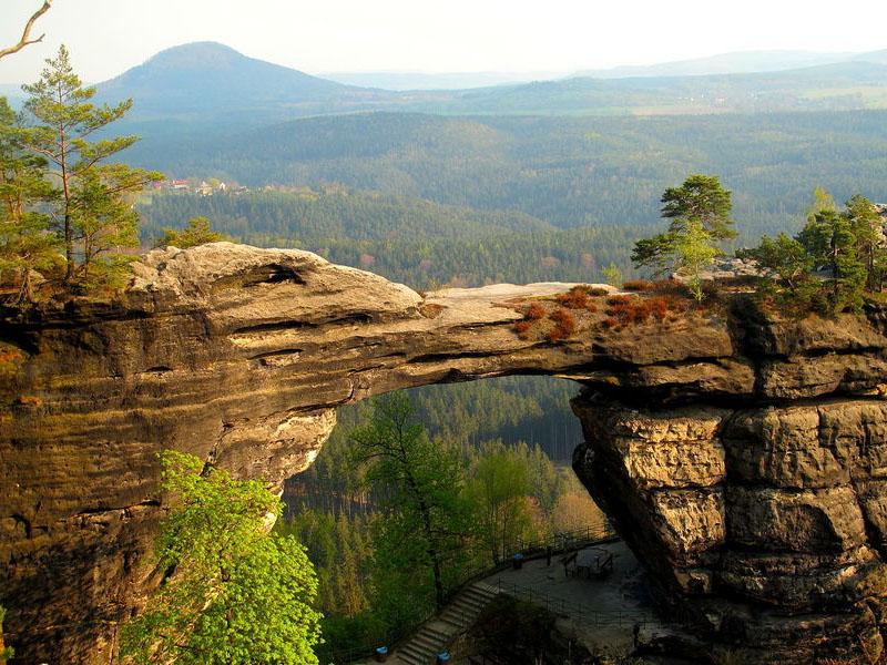 Paisagens naturais da República Tcheca