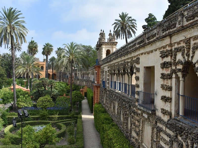 Ingresso Alcázar de Sevilha